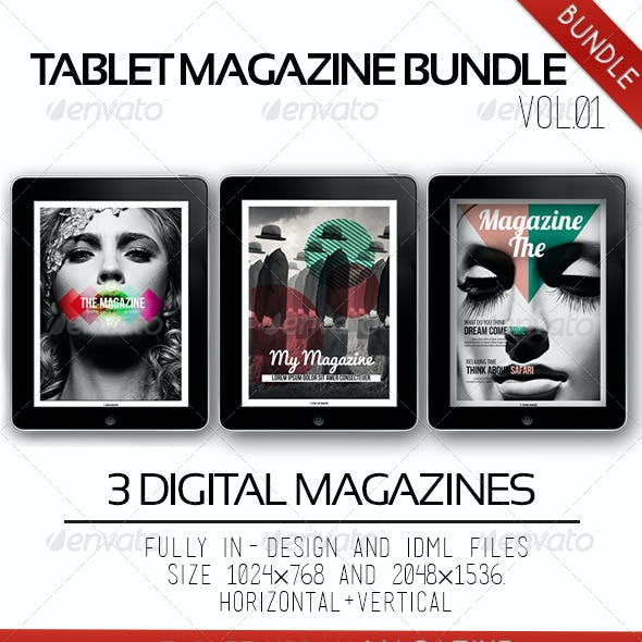 iPad & Tablet Magazine Bundle Vol.01