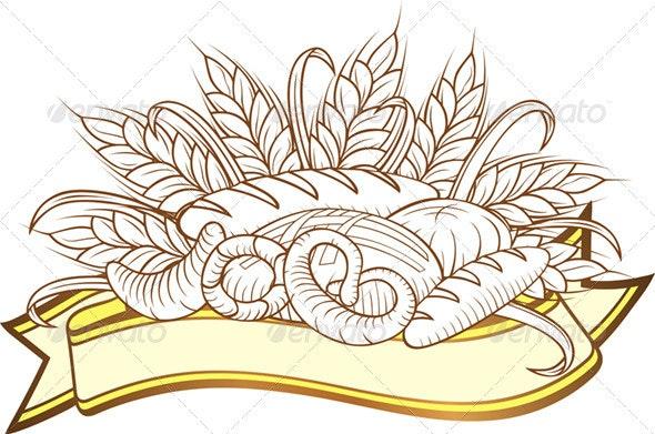 Bread Engravings - Food Objects