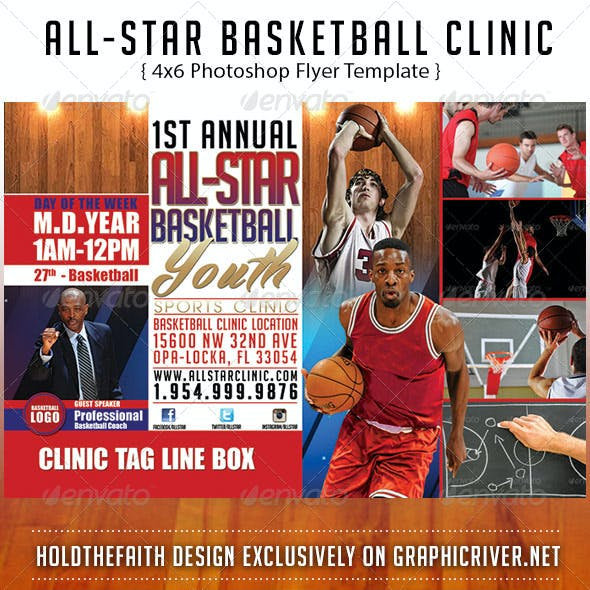 All-Star Basketball Clinic