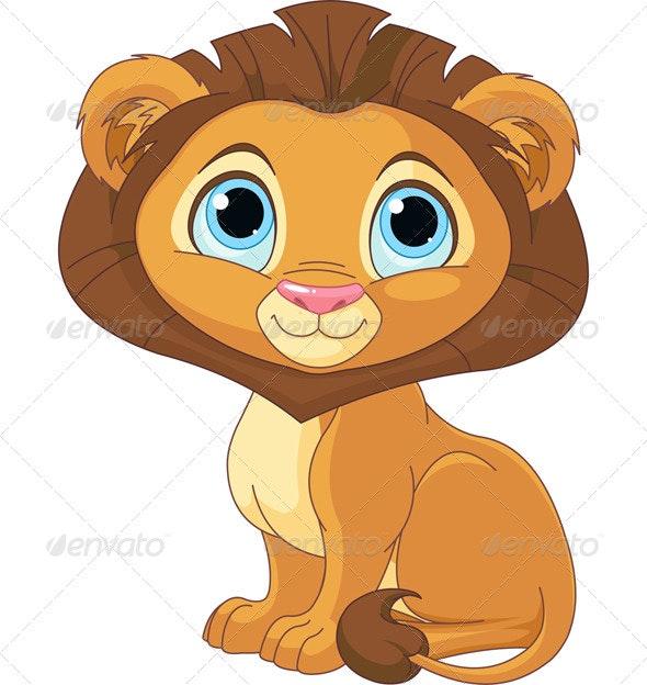 Cartoon Lion  - Animals Characters
