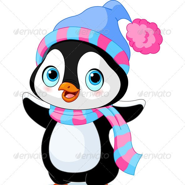 Winter Penguin