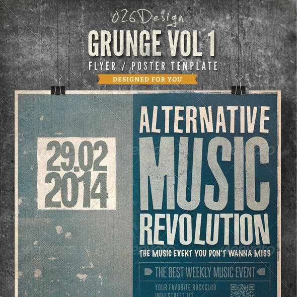 Grunge Poster / Flyer Vol 1
