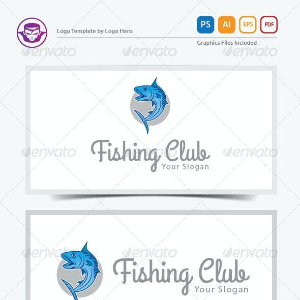 Fishing Club Logo Template