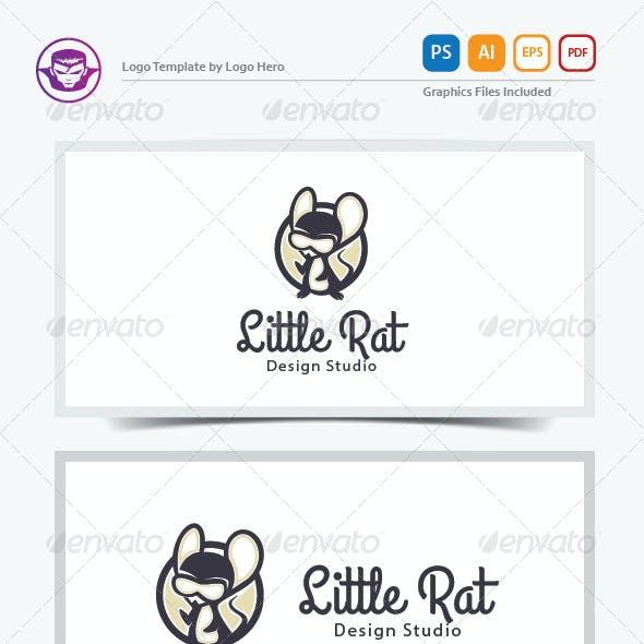 Little Rat Logo Template