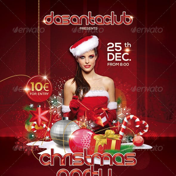 Red Christmas Party 25th December