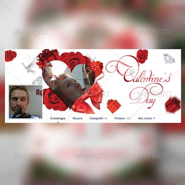 Valentine's Day - Social Media Web Elements