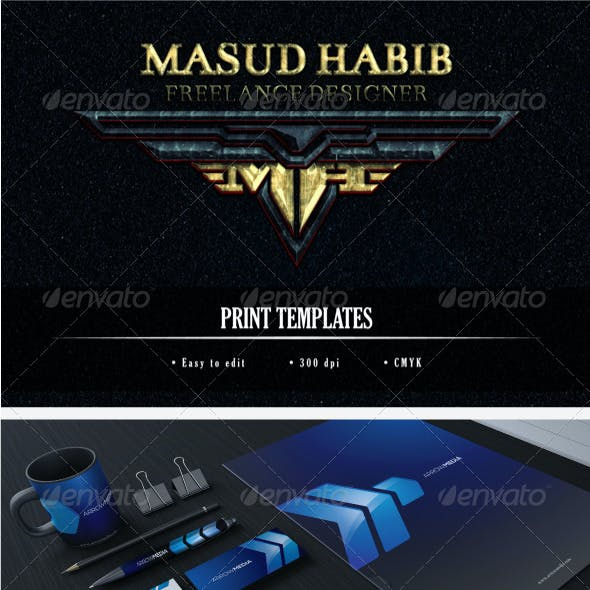 Blue and Name Card Graphics, Designs & Templates (Page 8)