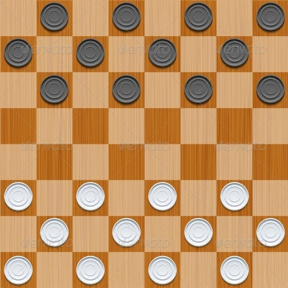 Vector Checker Background