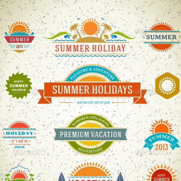 Summer Holiday Badge Vol 2