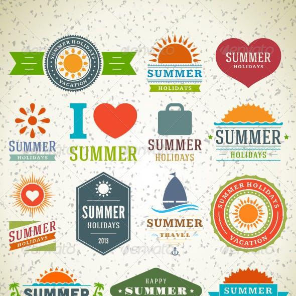 Summer Holiday Badge Vol 3.