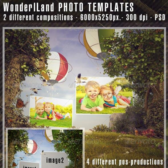 WonderLand Photo Templates