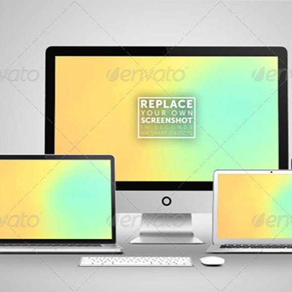 New Devices Responsive Mock Up