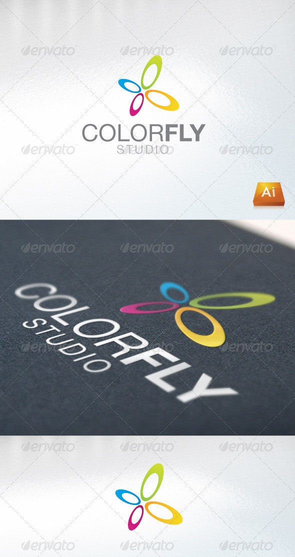 Colorfly - Abstract Logo Templates