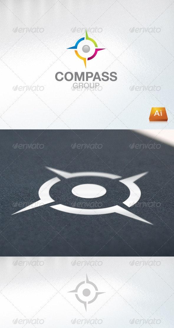 Compass Group - Abstract Logo Templates