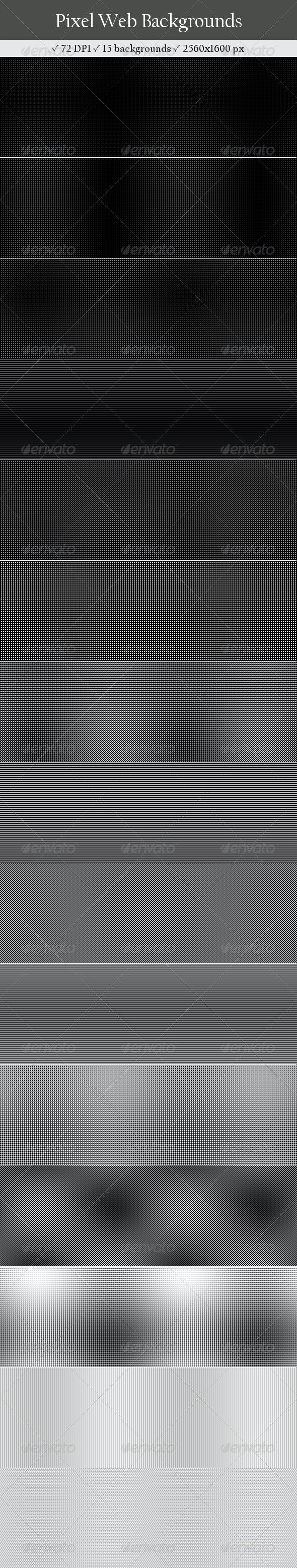 15 Pixel Web Backgrounds - Backgrounds Graphics