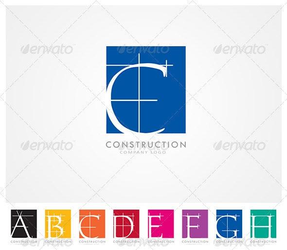 Construction Company Logo  - Company Logo Templates