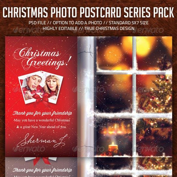 Christmas Holidays Postcard Pack (Bundle)