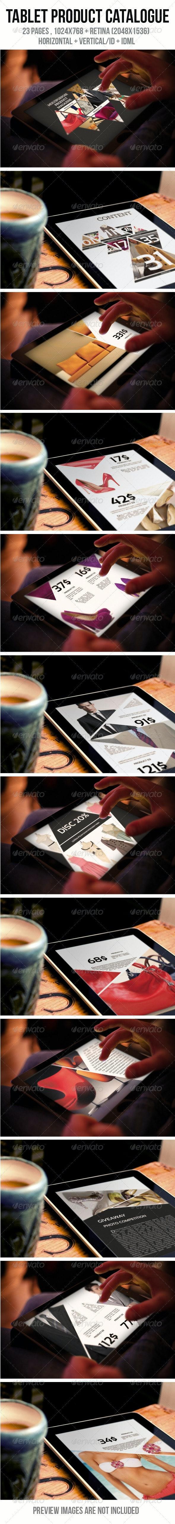 iPad & Tablet Product Catalogue