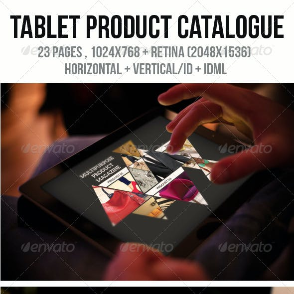 iPad & Tablet Product Catalogue