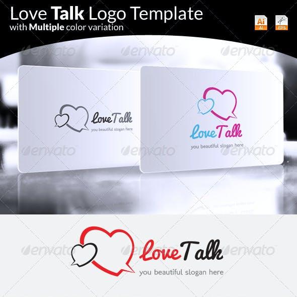 Love Talk Logo
