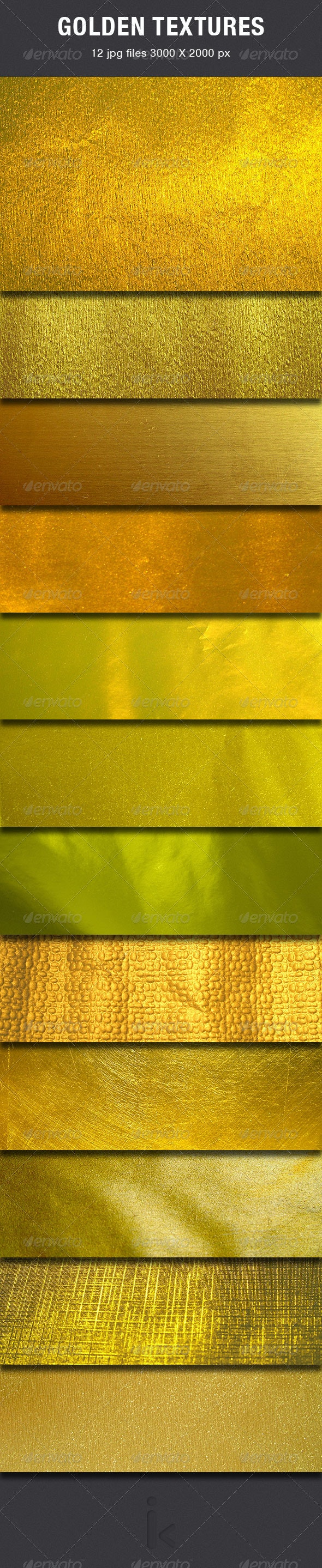 Gold Textures - Abstract Textures