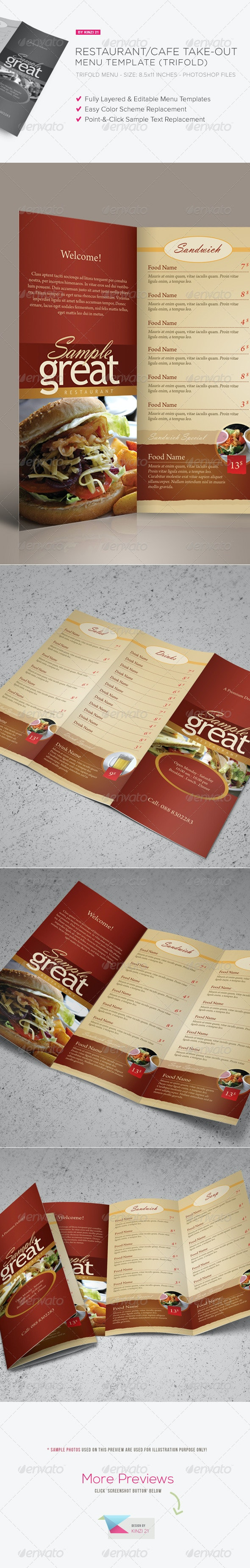 6 Best Menu Templates  for July 2020