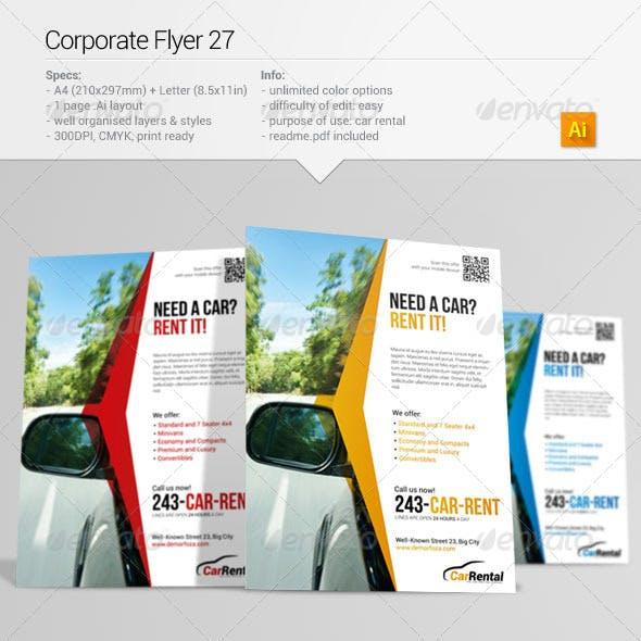 Corporate Flyer 27