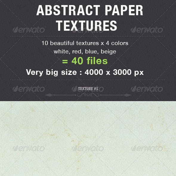 Abstract Paper Textures