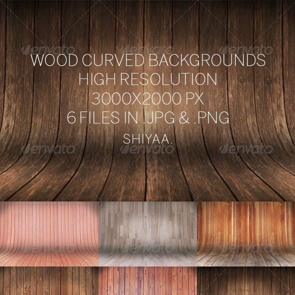 Wood Curved # Backgrounds