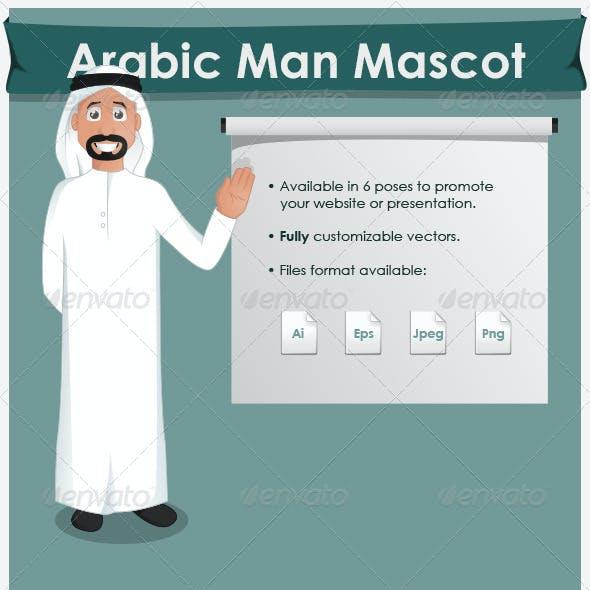 Arabic Man Mascot