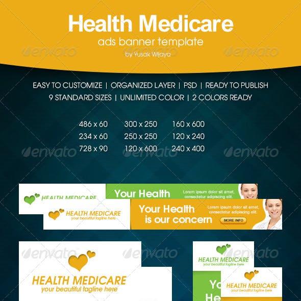 Health Medicare Ads Banner