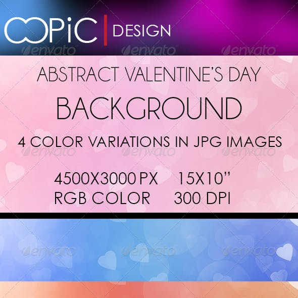 Abstract Valentine's Day Backgrounds