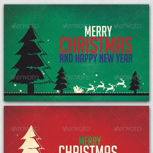 Christmas Invitation Card Graphics Designs Templates