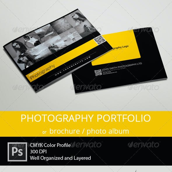 Photography Portfolio or Photo Album