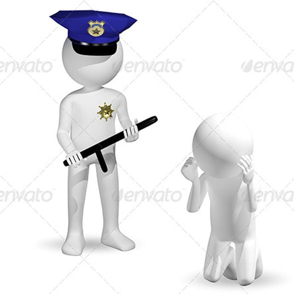 police and the criminal
