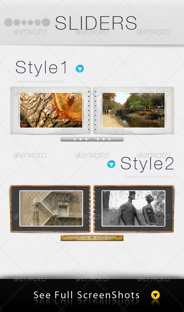 Sliders - Sliders & Features Web Elements