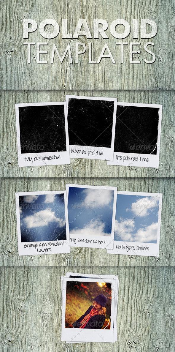Polaroid Templates - Miscellaneous Photo Templates
