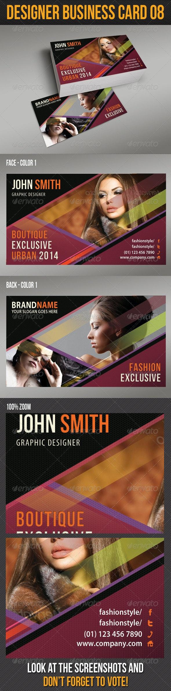 Designer Business Card 09 - Creative Business Cards