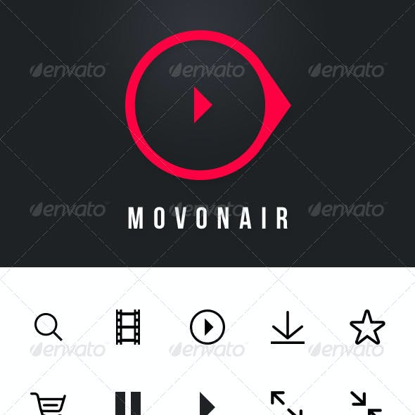 Movonair Mobile UI Set