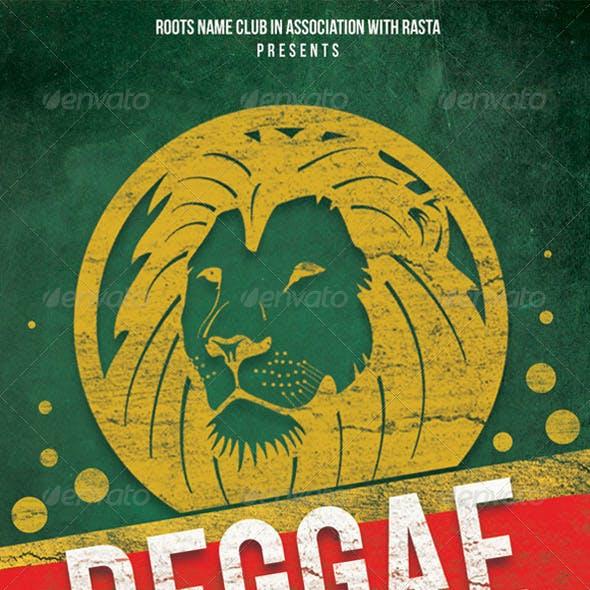 Reggae Sweet Music Flyer