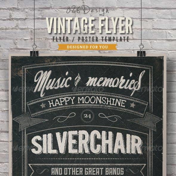 Vintage Typography Poster / Flyer V