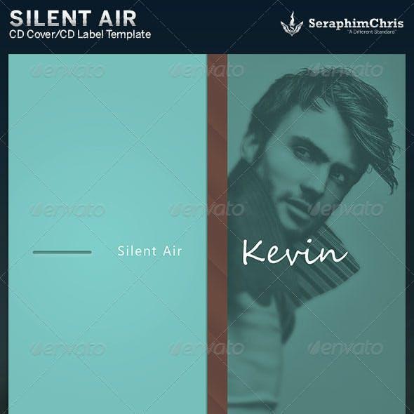 Silent Air: CD Cover Artwork Template