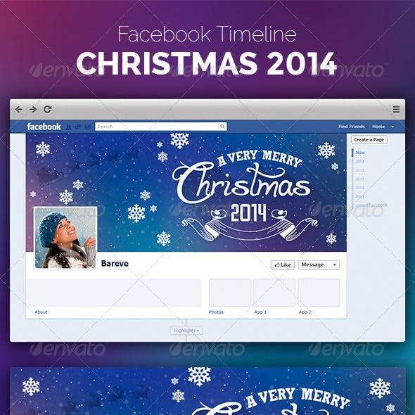 Facebook Christmas 2014 Timeline Cover