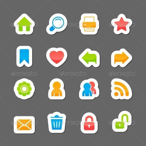 Website Layout Interface Elements