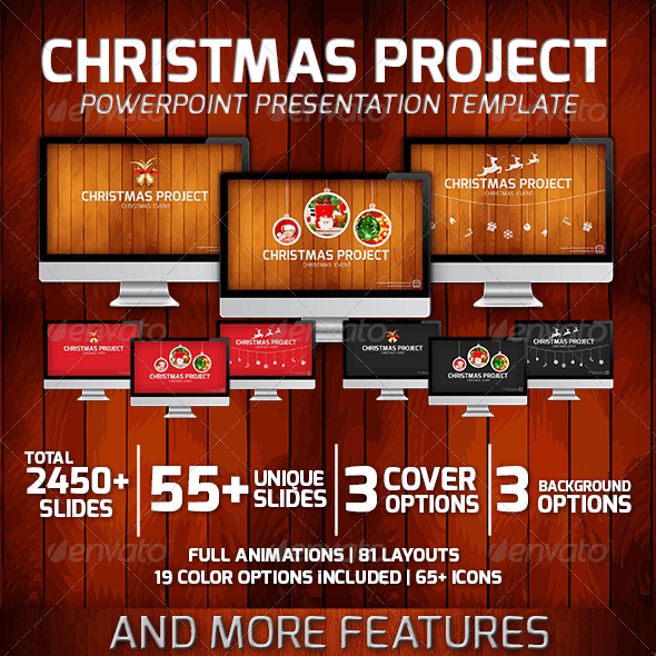 Christmas Project PowerPoint Presentation Template