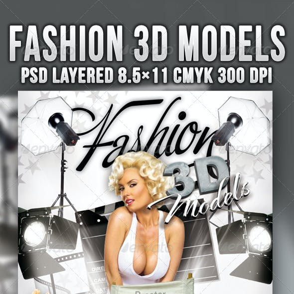 Fashion 3D Models