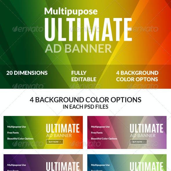 Multipurpose Ultimate Web Ad Banners