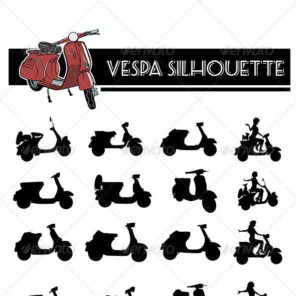 Vespa Silhouette