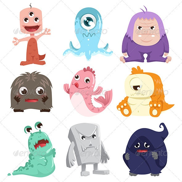 Monsters - Animals Characters