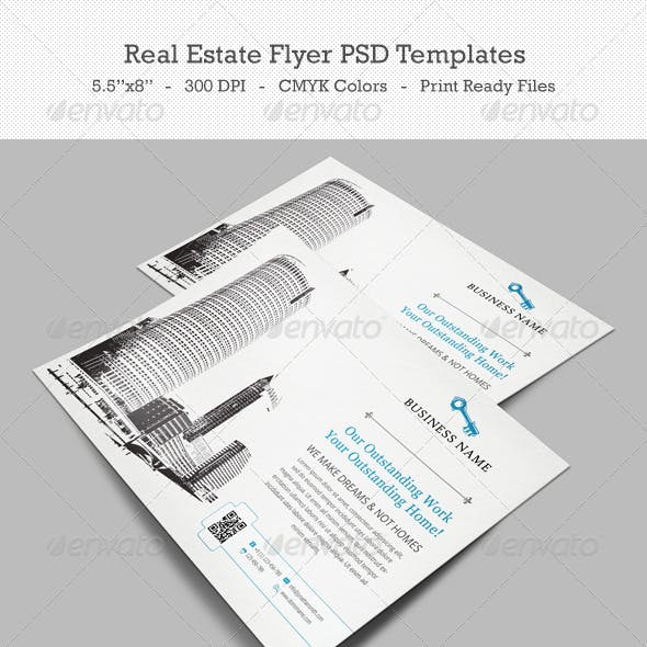 Real Estate Flyer PSD Templates